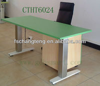 modular desk with lifting systems powered by high quality 2 motors