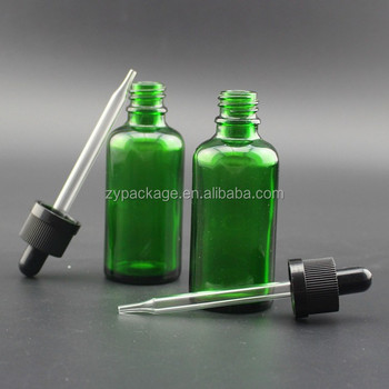 10ml 15ml 30ml 50ml 100ml green glass dropper bottle of e liquid e juice essential oil in the stock