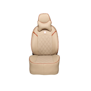 new year 2017 wholesale raw leather material car seat covers with PU leather