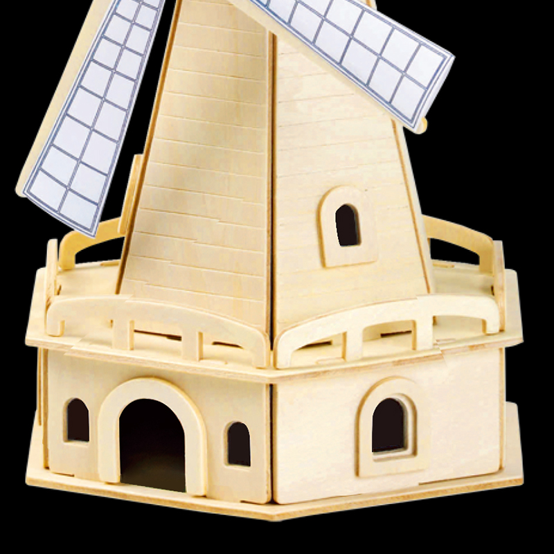 Robotime Diy Educational Toy Windmill Powered By Solar ...