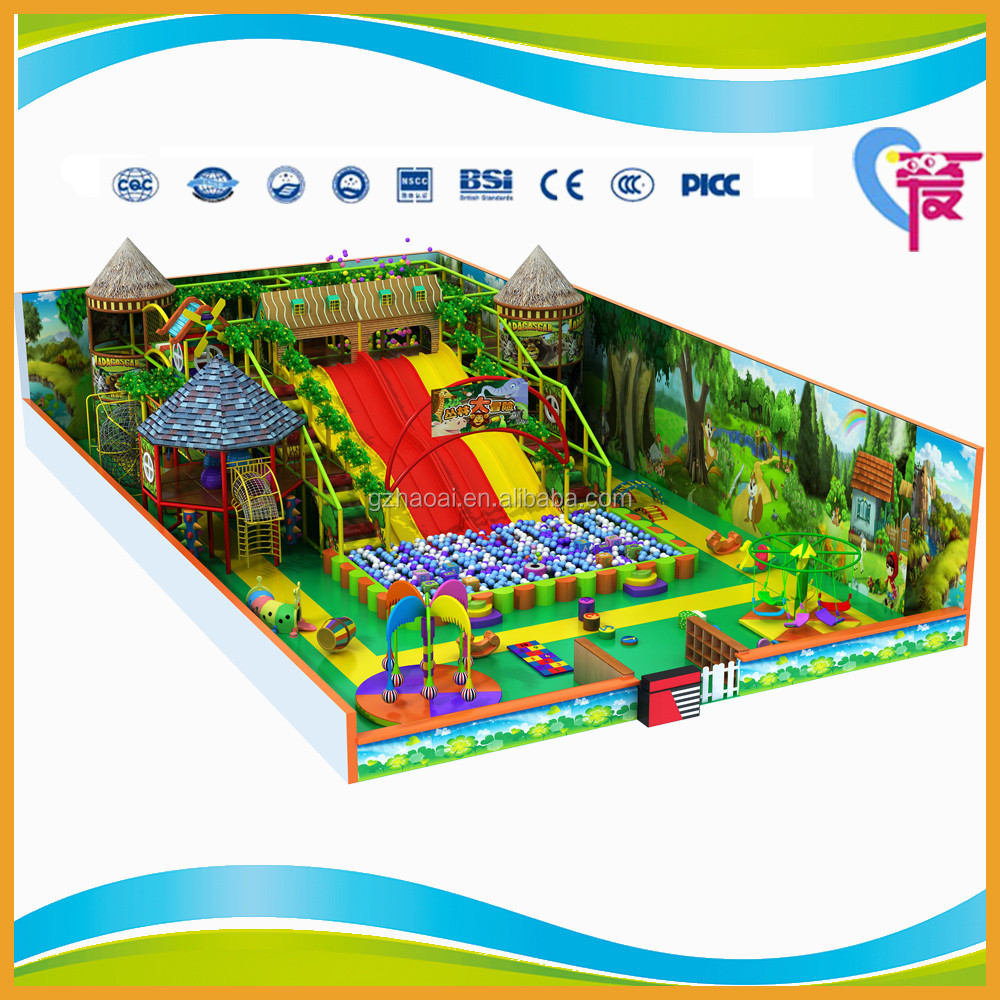 A-15287 Guangzhou China Children Indoor Playground Equip Soft Playground