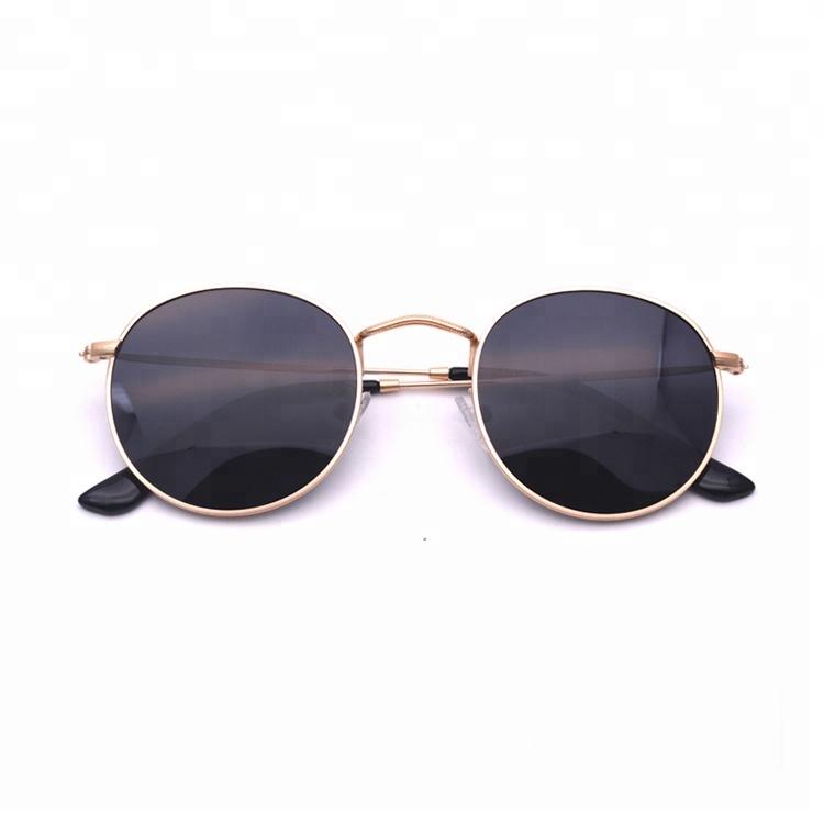Customized OEM Men Vintage Retro Stainless Steel Wholesale Fashion Sunglasses China Factory 2019