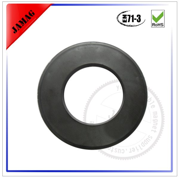 Hot sale JM y25 ring hard ferrite magnet for factory supply