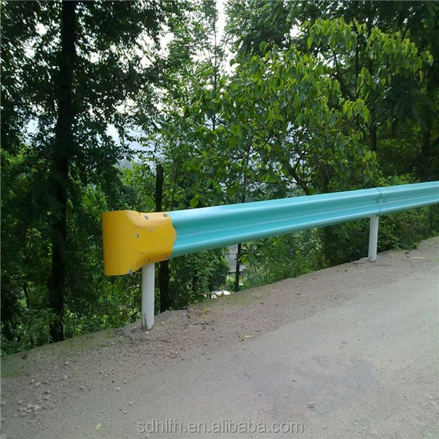 Warehouse safety guardrail for bridge / highway / roadside with 4320*310*85*4mm