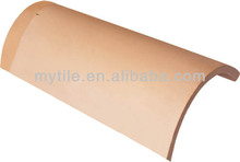 M1504 Half Round Begin hip Tile,Ridge Tile,Curved Roof Tile
