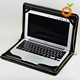 factory wholesale good price genuine leather cover case for Macbook