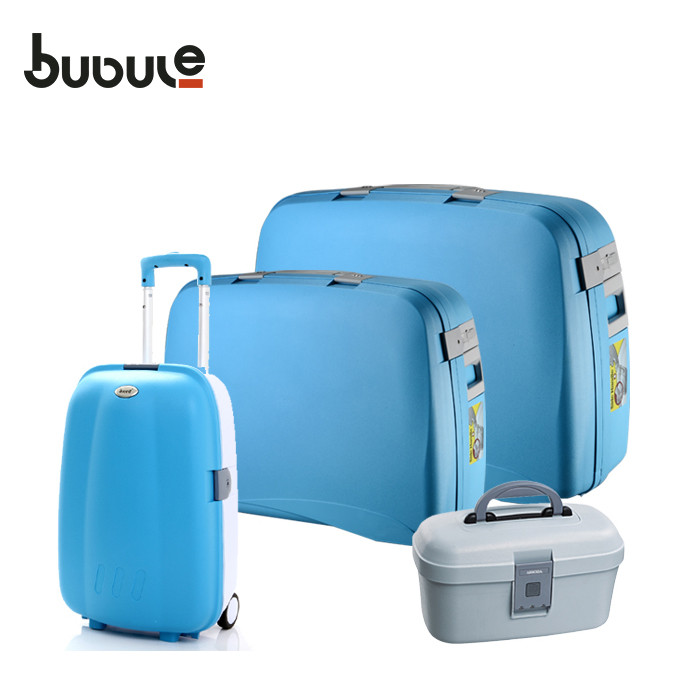 BUBULE New Design PP Designer Large Travel 4 Piece Luggage Set