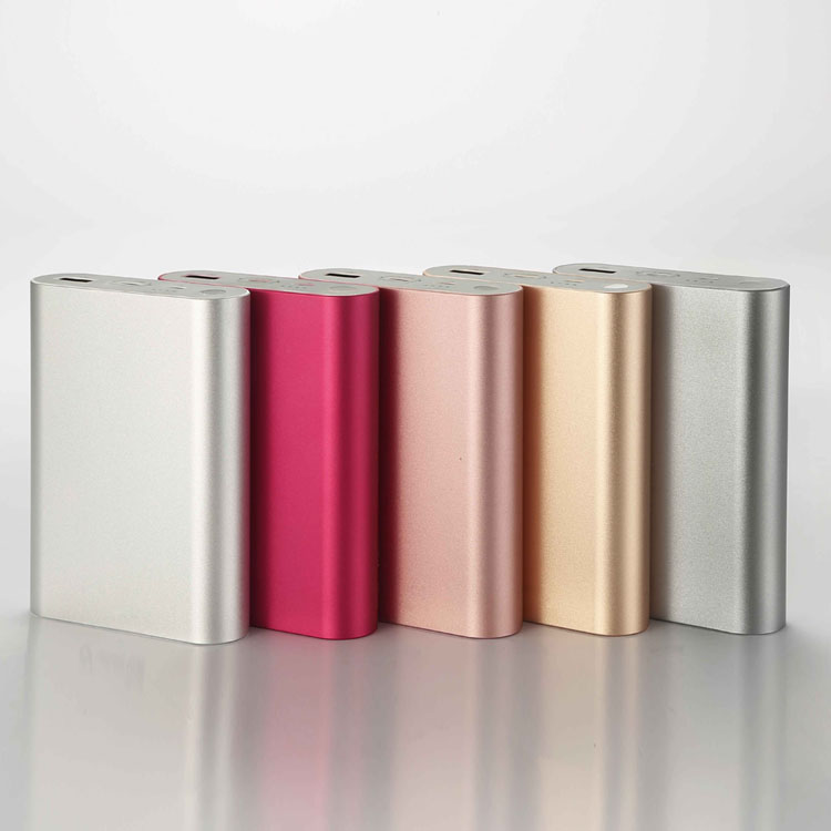 Hot selling portable Aluminum alloy shell Type-C 10000 mah power bank for Huawei/ Macbook/Iphone