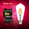 Led bulb in china vintage type led filament bulb 4w 6w led residential lighting