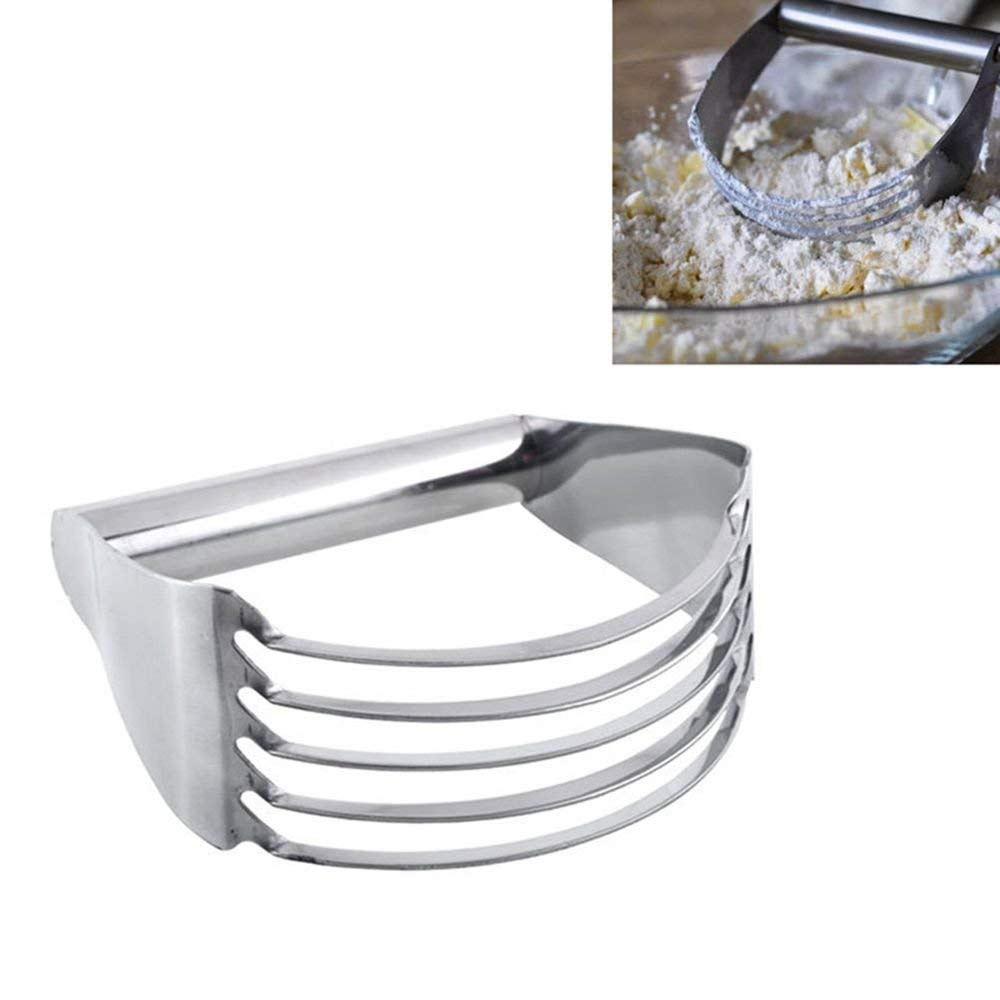 Pocktyle Blade Pasta Tools Pastry Whisk Cutter Kitchen Tool Mixer Blender Flour Blender Stainless Steel