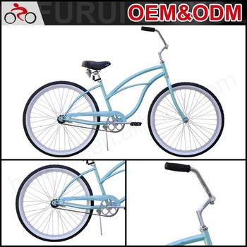 Neat Color Lady Beach Cruiser 26\