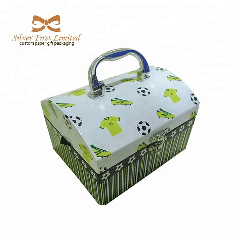 Popular Chest Box Piggy Money Cans Collection Accept Customized Cardboard Gifts Box