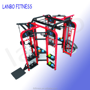Commercial crossfit synergy 360 multi funtion 6 station Commercial Use Gym professional 360 Crossfit Multi Functional Trainer