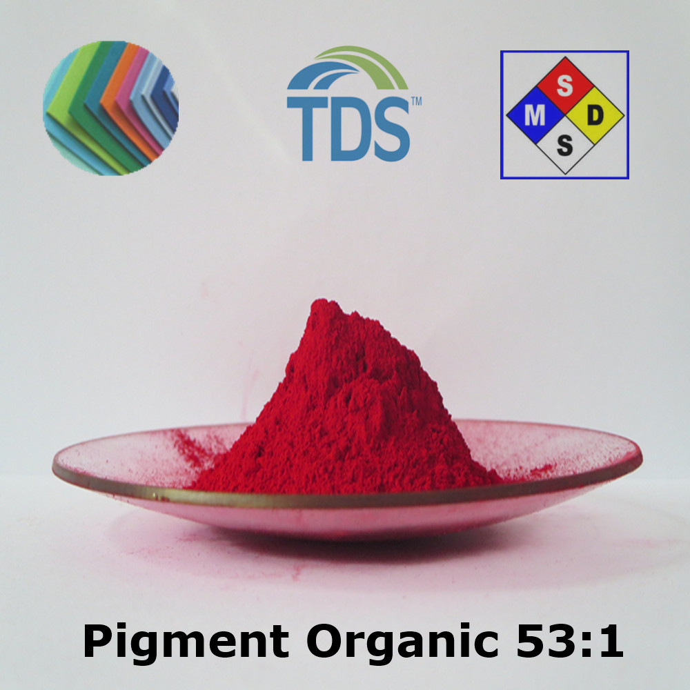 Organic Chemical Powder Pigment Red 53:1 for Rubber and Plastic