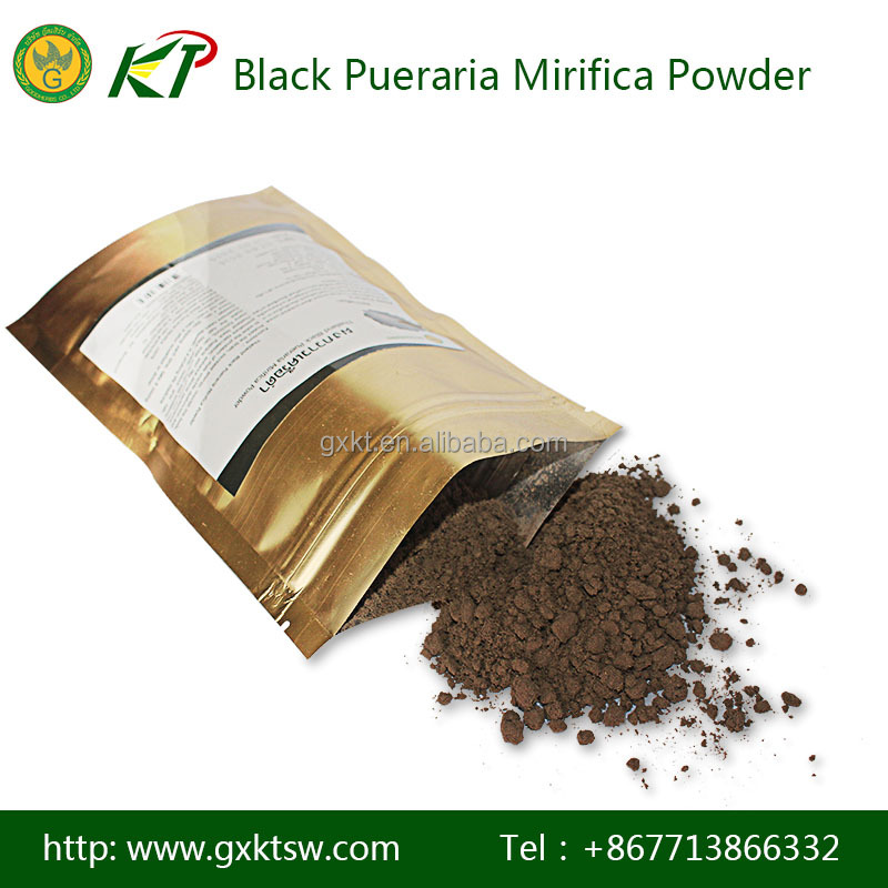 High quality natural black pueraria mirifica extract Powder for improve sexual performance