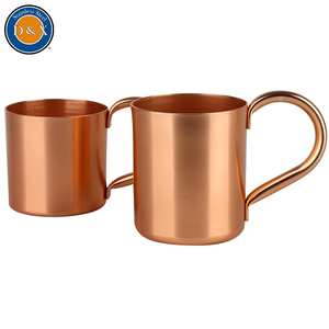 2017 new beer stainless steel ginger travel smirnoff copper moscow mule mug mugs manufacturer for vodka