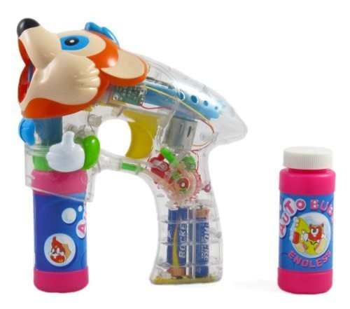 Mouse Head Bubble Blower Gun - Fast Fun Bubble Maker for kids