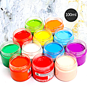 Wholesale Non-toxic premium quality Water Color Art paint art acrylic paint colorful Craft paint for Children designer