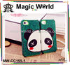 Cute couple panda style rhinestone bling cell phone case for i phone