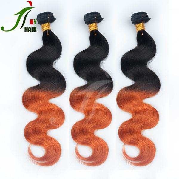 Wholesale Virgin Hair Vendors Balayage Remy Weaving Ombre Hair