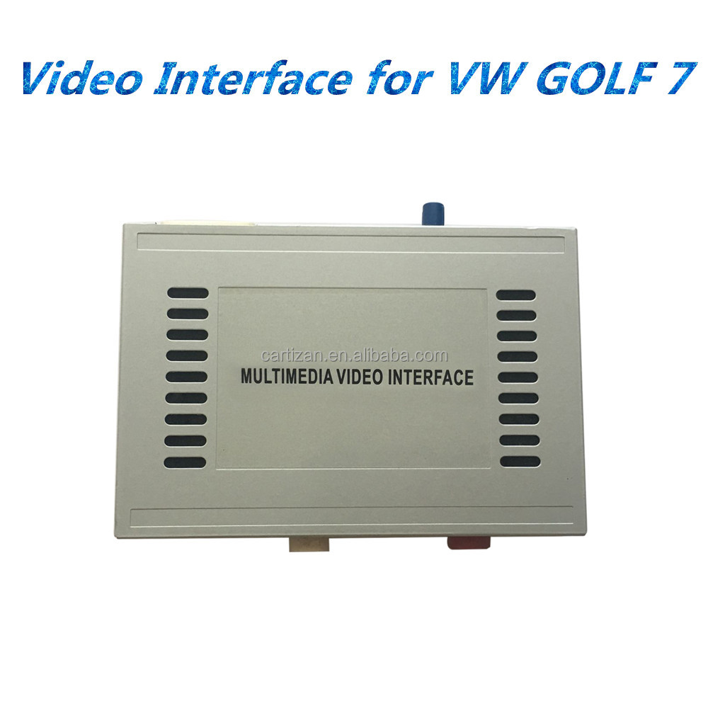 GPS interface for VW GOLF7 2015 2016 MIB MIB2 entertainment system