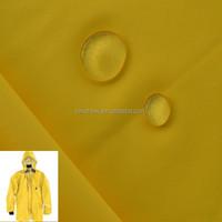 Waterproof raincoat fabric for rainwear fabric