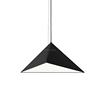 Hot Sell Replica Commercial LED Pendant Light Decorative Triangle Metal Hanging Lamp