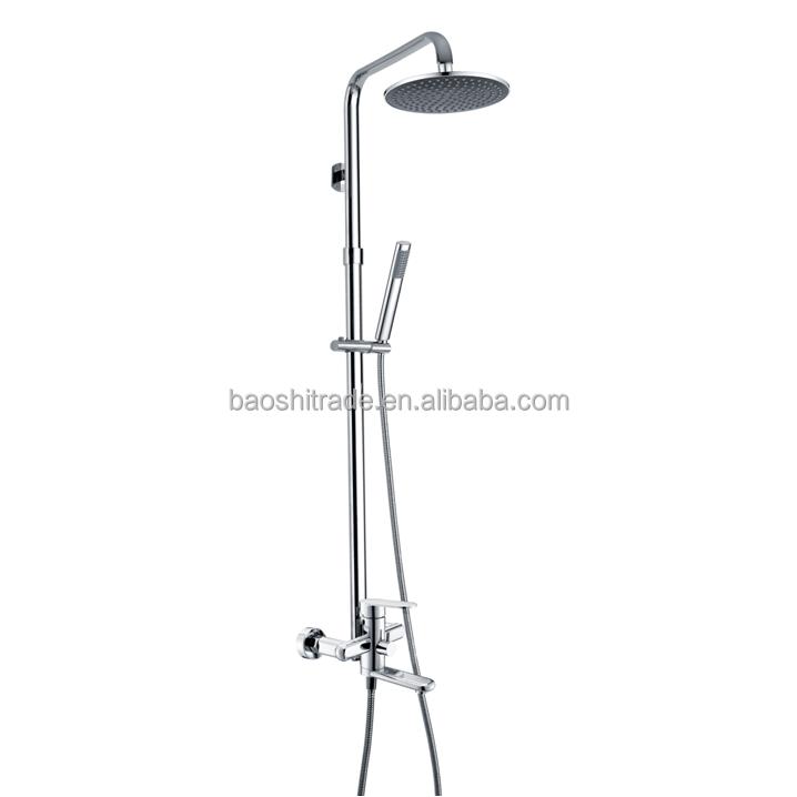 Zinc cromado ba o lluvia grifo de ducha con ducha de mano for Ducha lluvia precio