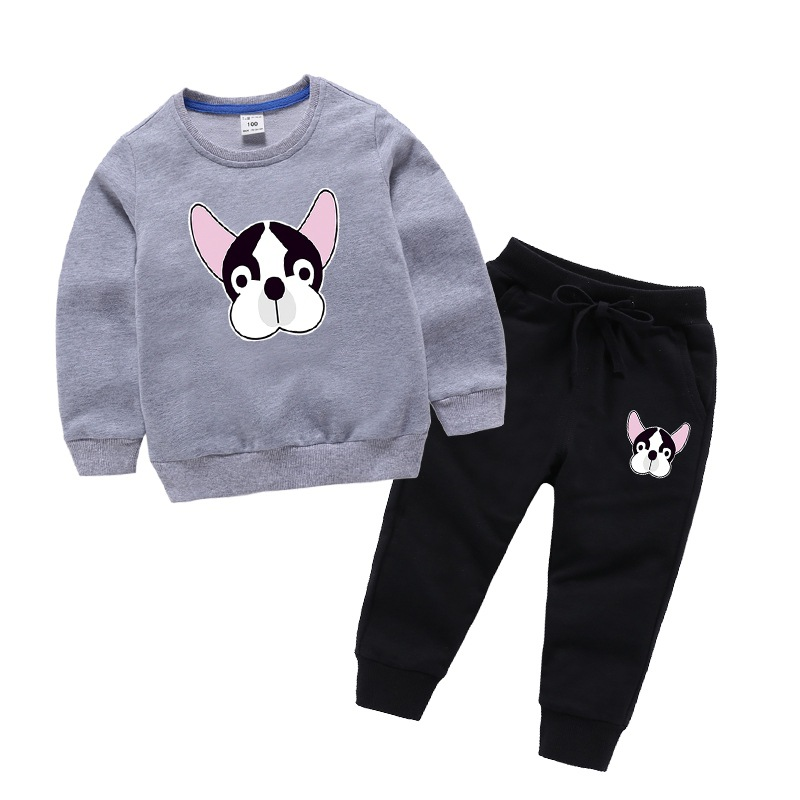 Lovely child clothing sets Sweater and Pants Kids Sport Outfit Suit Children Suit for boys and girls