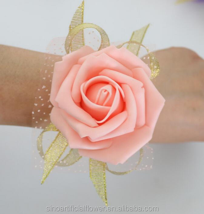 Wedding decoration flower PE artificial foam corsage