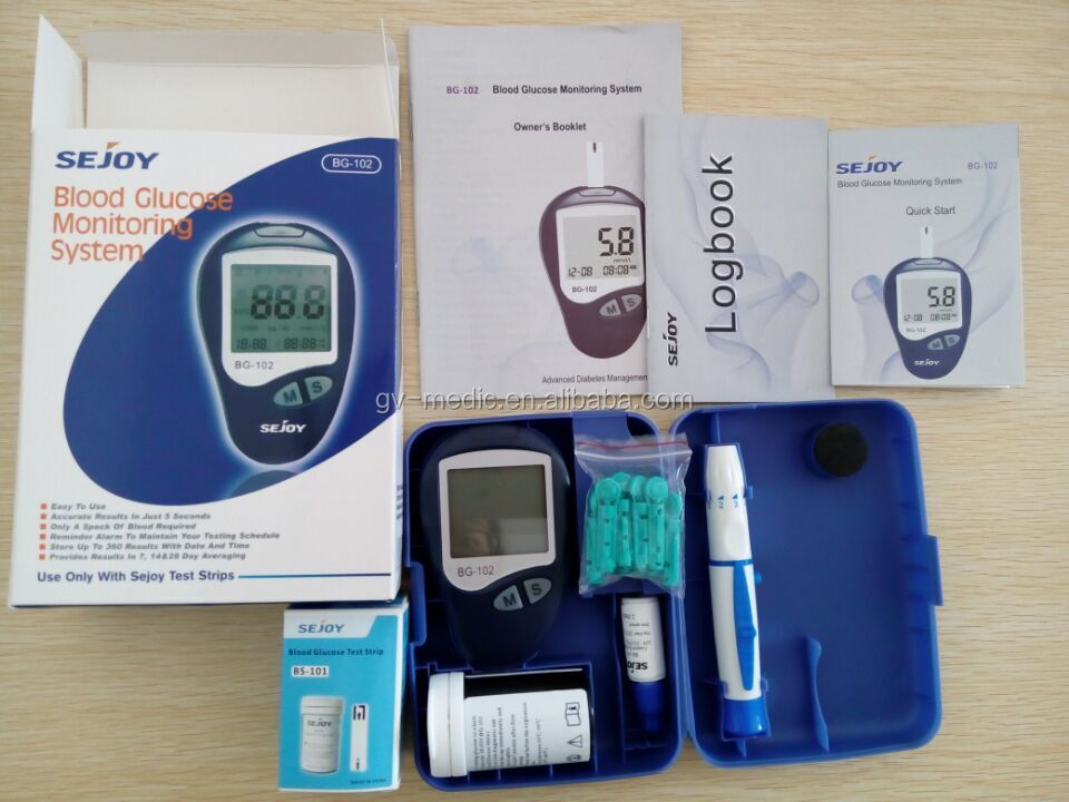 Blood sugar testing strips