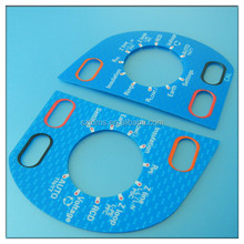 Self Adhesive Lexan Label Front Panel With Cutouts