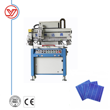Electrical Semi-auto Screen Printing Machine for Solar Cell High Precision
