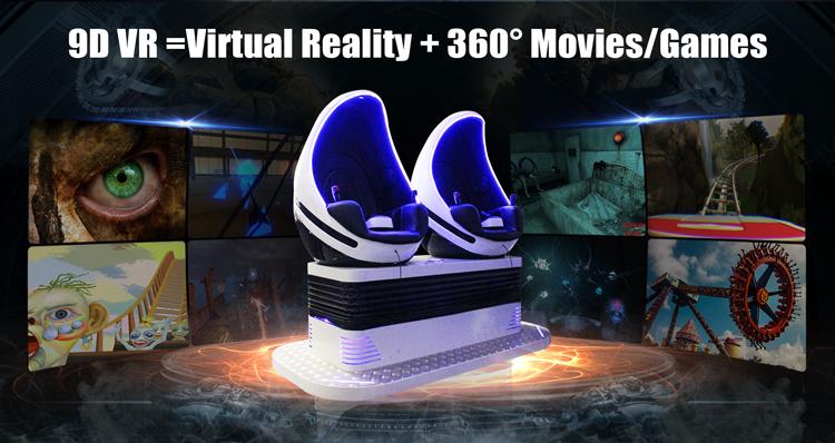 360 درجة الديناميكي الواقع الافتراضي 9D سينما ، VR 9D المسرح ، 9d VR سينما في دبي مع VR نظارات