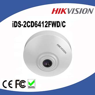 English Version iDS-2CD6412FWD/C Full HD Smart People Counting Hikvision CCTV Camera With Free Software