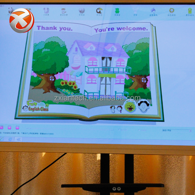 Smart board prijs usb interactieve whiteboard digitale wit board