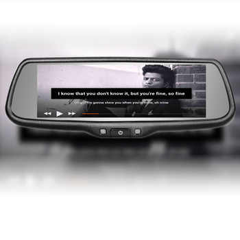 7.3 inch full screen car mirror link for kia sportage car with dvd