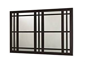 Mariano Metal Decor WA-3002-M-BRZ Windows Cocoa Spice Bronze Metal Mirror/Wall Decor Art