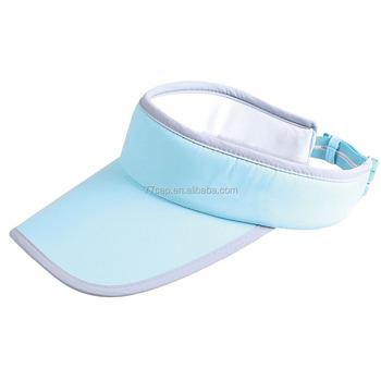 Custom Blank Blue And Yellow Cotton Lighted Sun Visor Cap - Buy ... 0c7333ed4e5