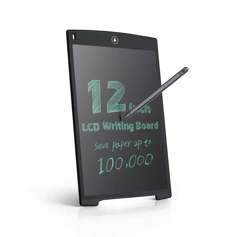 Lcd writing tablet with memory