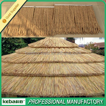 Masonry Materials Fireproof Artificial Thatch Roof Tiles