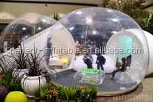 Commercial inflatable transparent tent, inflatable bubble lodge tent