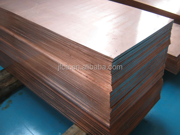 High strength copper sheet metal electrical application C11000