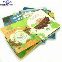 Children Board Story Book Lift Flip Flap Books Printing