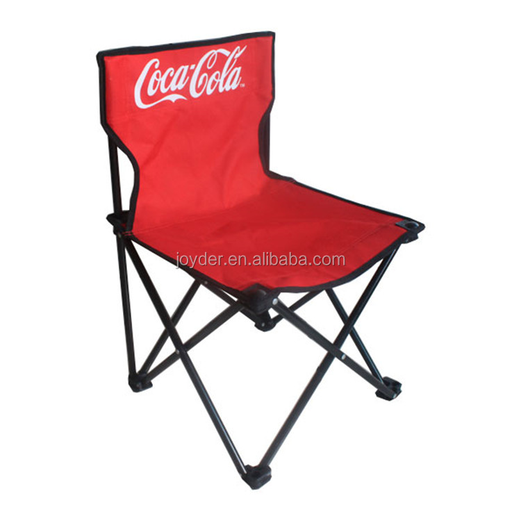 Adult camping folding festival chair with arms and cup holder
