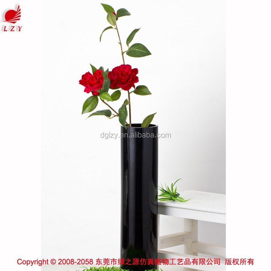 Artificial camellia silk artificial flower plants