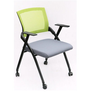 JOHOOFURNITURE China office furniture manufacturer folded fashion student training study chair with writing pad