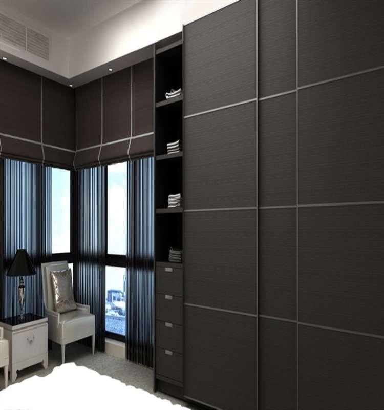 L Shape Double Color Wardrobe Design Furniture Bedroom Buy Wardrobe Double Color Wardrobe