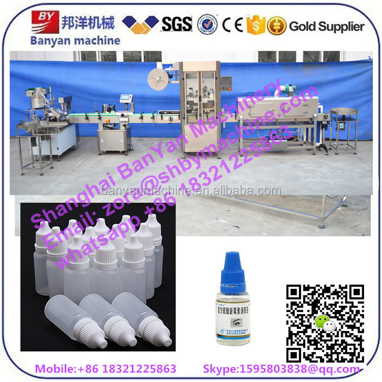 dISCOUNT Automatic complete 5 liquid filling capping labeling 133 shrink sleeve machine line for 10ml 20ml 30ml 60ml bottle