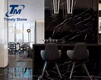 black marble reception desk
